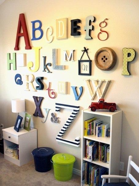 Большие буквы и слова