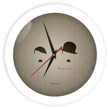 Часы о важности шляпы