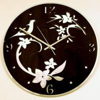 Часы Голубка черная (образец)