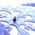 Фотографии Часы Ажур белый (образец)