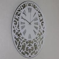 Часы Зеркальный овал (образец)