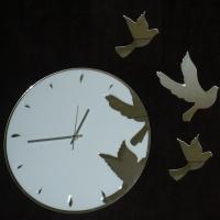 Часы Летящие птицы (образец)