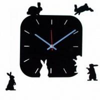 Часы Зайцы на поляне