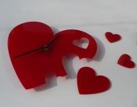 Часы Сердце